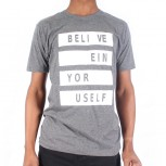 T SHIRT BOS M T245-1 S/S BELIEVE IN