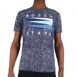 T SHIRT BOS M T256-2 S/S STATE