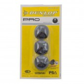 Squash Ball Dunlop Pro Double Yellow Dot