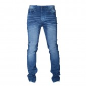JEANS POL M BLUE RINSE TAPERED LEG