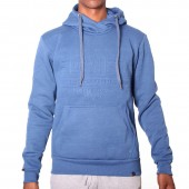 JERSEY SOV M NASH CROSS OVER HOODED SWEAT TOP
