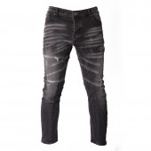 JEANS XTM M X01 SKINNY TAPERED TORN