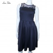DRESS LF L Q-2808 SLVLESS TOP NET