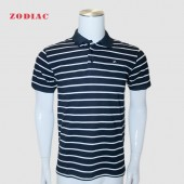 GOLF SHIRT RED SEA M 2017-54 STRIPE NVY/WHT L