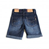 SHORTS PESCARA DENIM WITH RIPS