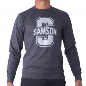 JERSEY SAM M PRINTED TERRY L/S T