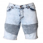 SHORTS ZOD M Z007 DENIM FOLDED HEM RIPPLE