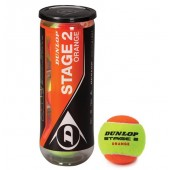 TENNIS BALL DUNLOP STAGE 2 ORANGE