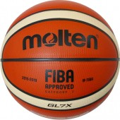 Basketball Ball Molten Leather Competition FIBA Approved GL7X