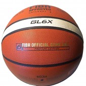 Basketball Ball Molten Leather Competition FIBA Approved GL6X