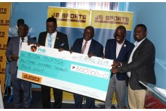 JB SPORTS SPONSORS BISA AND BOPSSA WITH BWP 300,000